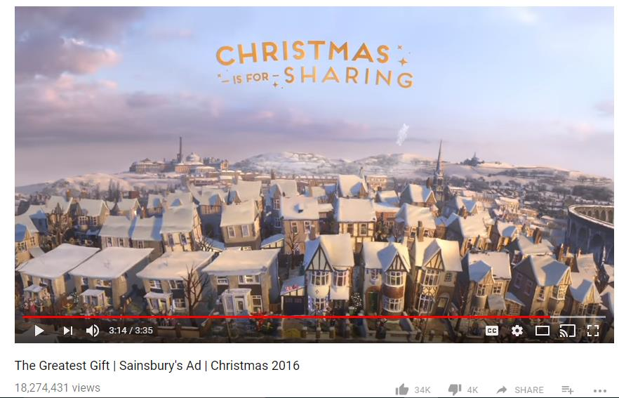 SainsburyÔÇÖs Christmas Video 2016