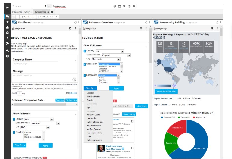 Top 35 Social Media Monitoring Tools for 2019-Tweepsmap